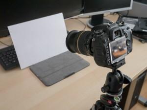 Nikon D7000 auf Stativ